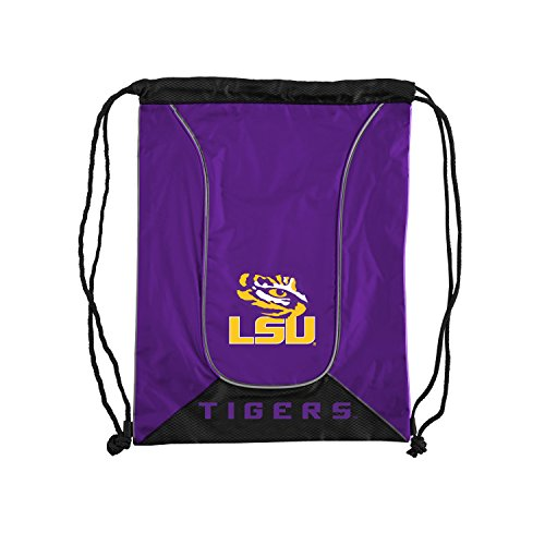 Officially Licensed NCAA LSU Tigers Doubleheader Backsack, 18-Inch, Purple]()