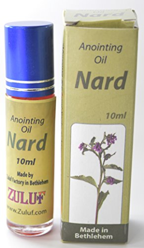 Zuluf Nard Anointing Oil Jerusalem Nard Magdalena Annointing Oil - 10ML Bottle