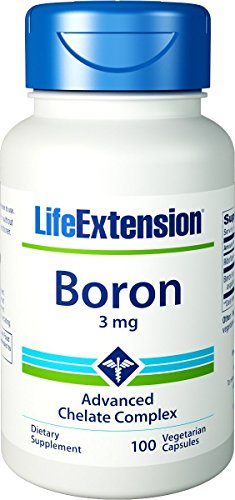 Life Extension Boron 3 Mg 100 Vegetarian Capsules