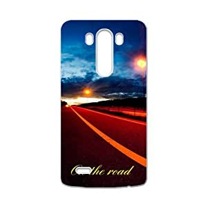 On the road ?Dreams are ahead The Road Less Traveled Custom case cover for LG G3 by runtopwell