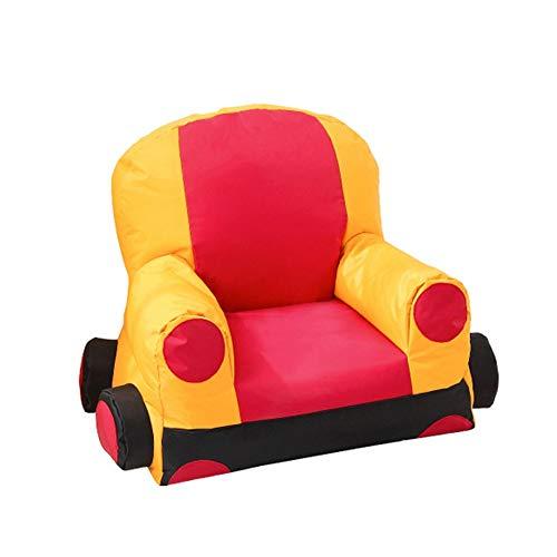 Amazon.com: TAESOUW-Home Kids Foam Filled Bean Bag Chair ...