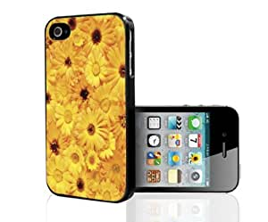 Yellow Sun Flowers Hard Snap on Phone Case (iPhone 4/4s)