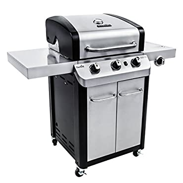 Char-Broil Signature 3-Burner Stainless Steel Propane Gas Grill (463372017)