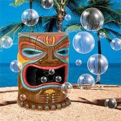 Tiki Head Bubble Machine -