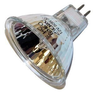 "EiKO ENX ANSI Code Lamp (3-Pack), 82 Voltage Rating, 360 Watts, 4.39 Amps, GY5.3 Base, MR16 Bulb, CC-8 Filament, 1.75""/44.5mm MOL, 2.00""/50.8mm MOD, CT deg K 3300, 75 Rated Life"