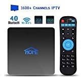 2GB RAM 16GB ROM IPTV Receiver Box 2019 New 4K IPTV Subscription Box Over 1600 Live Channels Including Asian/USA/CA/Europe/JP/Arabic/Brazil/India Programs