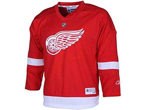 NHL Hockey Reebok Detroit Red Wings Boys Size 4-7 Jersey Red