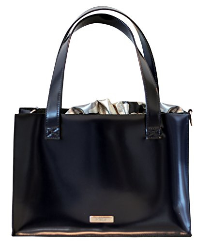 Borsa Donna, Pikla Bag con tracolla regolabile con moschettone, sacca interna laminata mimetica estraibile, chiusura a strozzo, accessori in Nikel, Made in Italy.