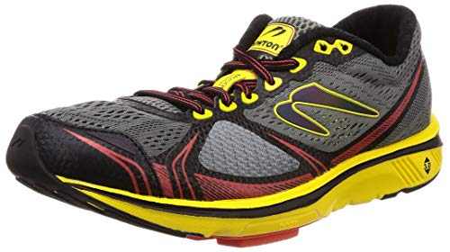 Newton Running Men's Motion 7 Charcoal/Yellow 10 D US