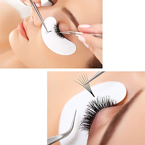 1626777317f Thickness 0.07mm Russian Volume Premade Fans Eyelash Extensions C/D Curl 8~15mm  2D 3D 4D 5D 6D 7D 8D 10D 20D by Quewel (0.07D, 14mm)