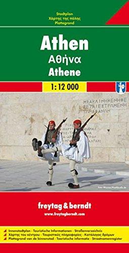 Athen 1 : 12 000. Stadtplan. Innenstadtplan. Touristische Informationen. Straßenverzeichnis: Innenstadtplan. Touristische Informationen. Straßenverzeichnis (City Map)