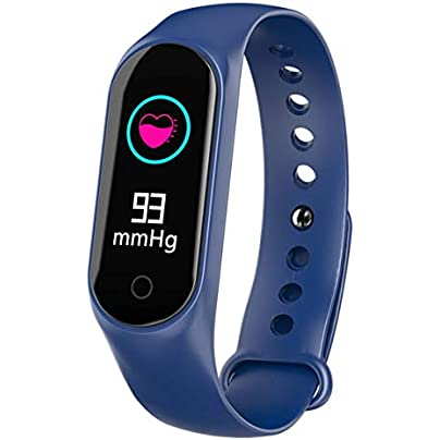 FKING Fitness Tracker Activity Tracker Smart Wristband IP67 Waterproof Heart Rate Monitor Blood Pressure Detection Multi-sports Sleep Monitoring Estimated Price £23.95 -