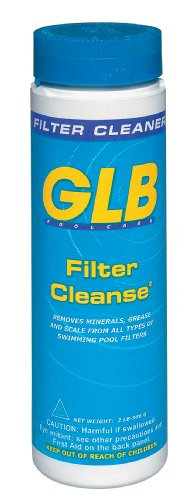 GLB Pool & Spa Products 71006 2-Pound Pool Water Filter Cleaner