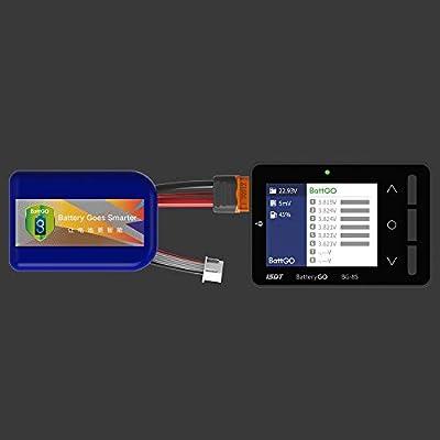 ISDT GetFPV BG-8S Smart Battery Checker: Toys & Games