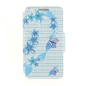 QHY Kinston Heart Flower Butterfly Diamond Paste Pattern PU Leather Full Body Case with Stand for Samsung Galaxy Note 4