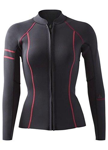 Pop Top Jacket - prAna Mara Jacket Neoprene, Black Pop, Medium