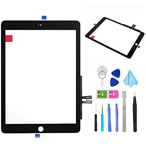 Black Touch Screen Digitizer Repair Kit for iPad