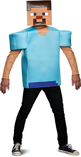 Disguise Men's Steve Classic Adult Costume, Turquoise One Size