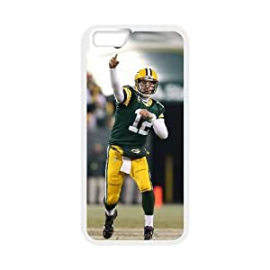 Aaron Rodgers iPhone 6 Plus 5.5 Inch Cell Phone Case White 6KARIN-186192