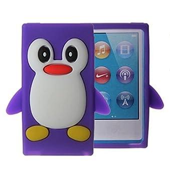 Apple Ipod Nano 7th Generation Case - Tsmine Cute 3D Penguin Soft Silicone Back Washable Cover Case Protective Skin for iPod Nano 7th Gen, Green Tsmine Technology Co. Ltd NANO7-QI-E-GREEN