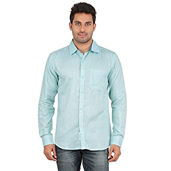 AllTimes Men s Light Blue Color Full Sleeve Shirt  Amazon.in  Clothing    Accessories 7c7e1a59a