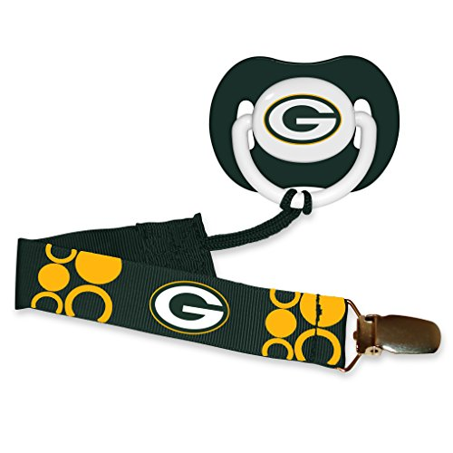 Baby Fanatic Pacifier Green Packers