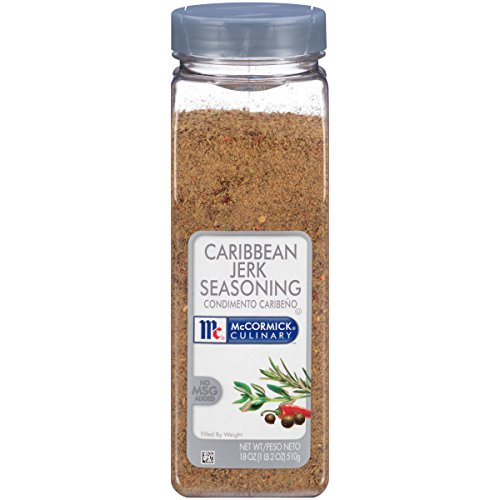 McCormick Culinary Caribbean Jerk Seasoning, Dry Jerk Seasoning, 18 oz (Jerk Rub)