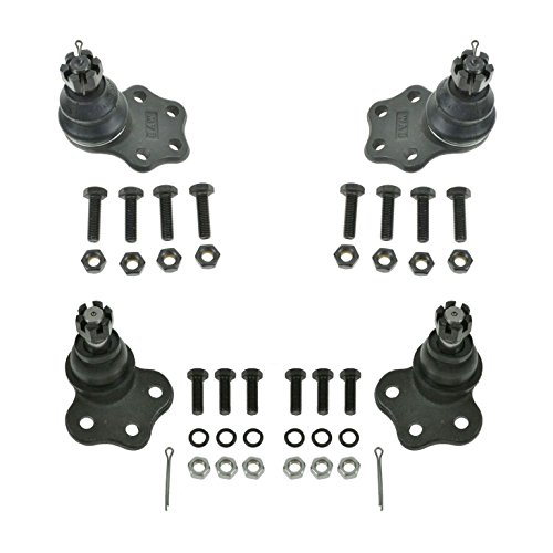 Front Upper & Lower Ball Joints Kit Set of 4 for Dodge Dakota Durango 2WD
