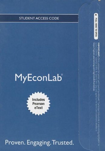 NEW MyEconLab with Pearson eText -- Access Card -- for Macroeconomics (MyEconLab (Access Codes))