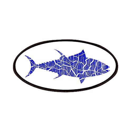 CafePress TUNA Patch, 4x2in Printed Novelty Applique Patch