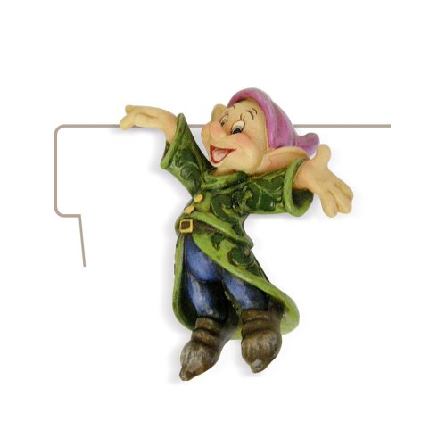 Enesco Disney Traditions Designed by Jim Shore Dopey Planter Adornment 2.5 in (Shore Jim Plant Disney)