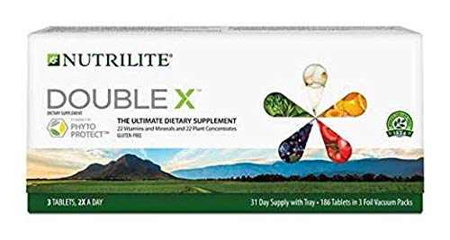 Supply Day 31 (NUTRILITE Double X Refill 186 TABS - 31 Day Supply Refill)
