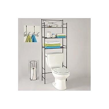 LDR Bathroom Storage Space Saver Set 3 Piece Bronze Finish