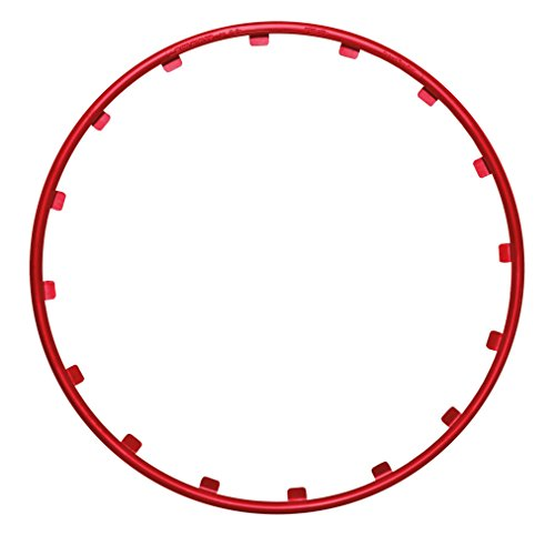 RIM RINGZ Car Wheel Rim Protector, 18 – Race Red