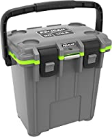 Pelican Elite 20 Quart Cooler (Dark Grey/Green)