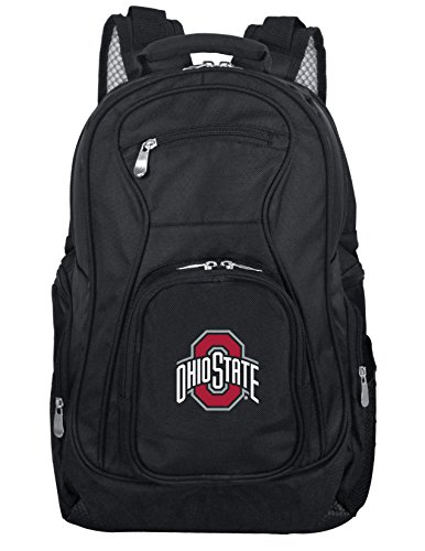 NCAA Ohio State Buckeyes Voyager Laptop Backpack, 19-inches - Ohio State Backpack