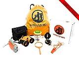 Outdoor Toys for Kids - Easter Basket Stuffer Adventure Kids Outside Childrens Toys Binoculars Flashlight Compass Whistle Magnifying Glass Backpack Exploration Kit Camping Birthday Gift for Boy Girls