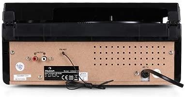 auna MG-TT-82C tocadiscos retro (33/45 RPM, altavoces ...
