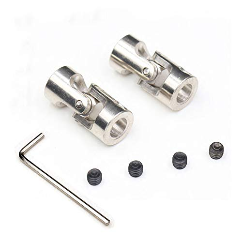 Electric Rc Model Parts - TEZONG Universal Steering Joint Shaft Coupler 3x3mm Motor Shaft Combination Connector for RC Boat Car Crawler