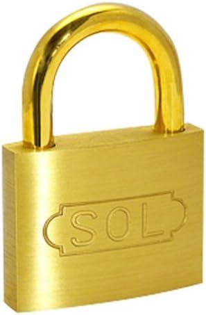 SOL-HARD SOLシリンダー南京錠 NO.2500 50mm 同一鍵