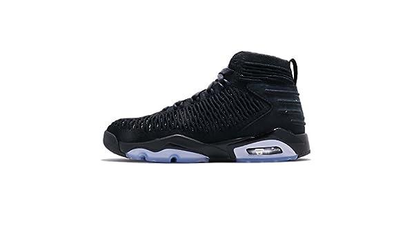 hot sales 1a939 bd9af Amazon.com   Nike Boy s Jordan Flyknit Elevation 23 Black Black-Metallic  Silver 6.5Y   Shoes
