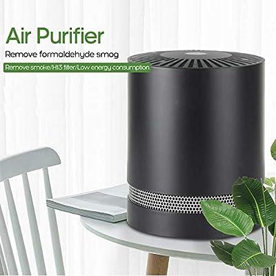Godyluck - Purificador de Aire con Sistema de filtración, eliminador de olores y purificador de Aire para alergias y Mascotas, Humo, Moho, gérmenes y Polvo, Blanco, EU Plug: Amazon.es: Hogar