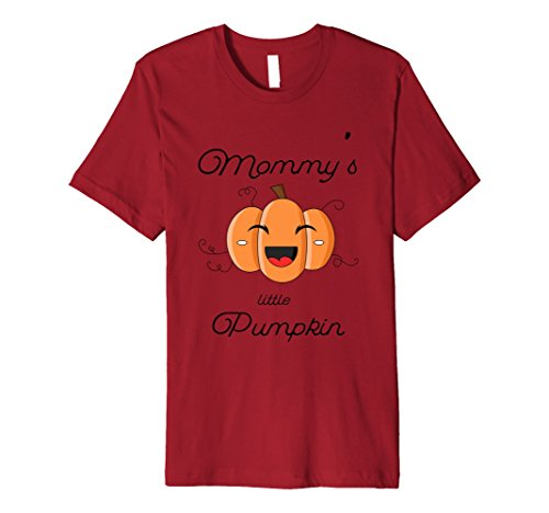 Mens Mommy's Little Pumpkin Cute Halloween Shirt for Kids Medium (Cute Thing One And Thing Two Costumes)