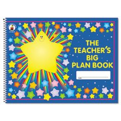 Carson-dellosa Publishing Lesson Plan Book, 42-Week, Wirebound, 9-1/4 x 13, 96 (Teachers Big Plan Book)