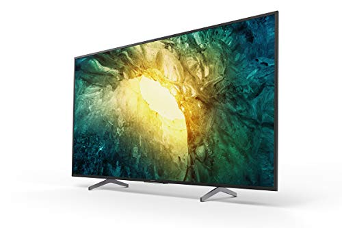 Sony BRAVIA 55 inch X75H LED 4K HDR Ultra HD Smart Android TV, Netflix Button and Google Assistant Voice Search, KD-55X7577H