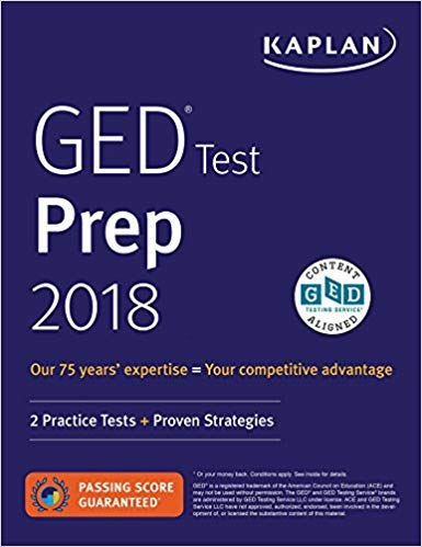 [By Caren Van Slyke ] GED Test Prep 2018: 2 Practice Tests + Proven Strategies Revised Edition (Paperback)【2018】by Caren Van Slyke (Author) (Paperback)