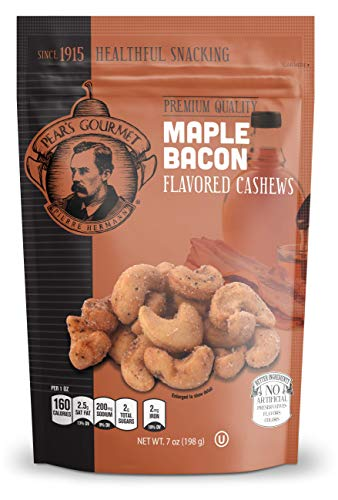 Maple Bacon Flavored Cashews - 7 - Cashews Gourmet