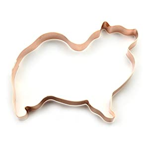 Keeshond Dog Cookie Cutter 3