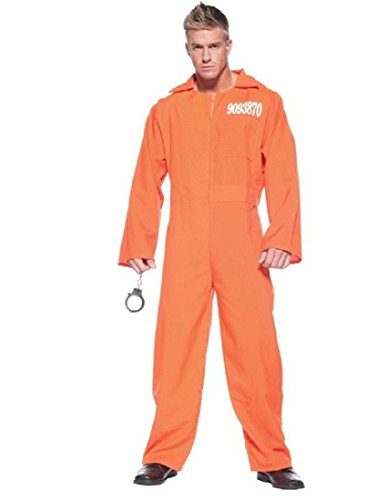 (Men's Prisoner Costume - Prison)