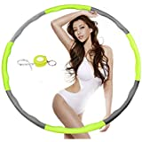 NEOWEEK Hula Hoops for Adults-Weighted Hula Hoop for Exercise-2lb,8 Section Detachable Design-2018 Professional Fitness Hula Hoop